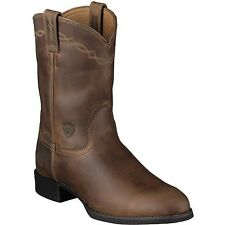 Ariat Mens Roper Distressed Brown Boots BRAND NEW!