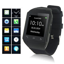 Touch Screen Smart Watch Calls SMS MP3 Weather Bluetooth Sync For iPhone Android
