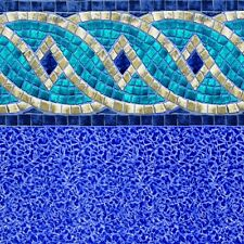 RIVIERA - BEADED Above Ground Pool Liner - ALL SIZES - CLEARANCE MEGA SALE