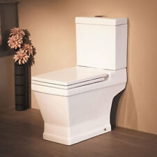 Bathroom Suites Close Coupled Toilet Pan Pedesta Basin Sink Back To Wall WC Unit