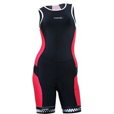 New Black&Red Women's Bicycle Skinsuit Road Bike Summer Cycling Triathlon S-2XL