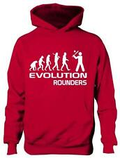 Evolution Of Rounders Sport  Boys Girls Hoodie Gift Age 5-13