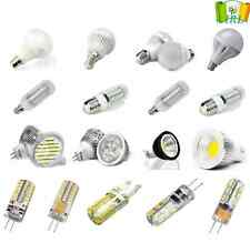 E14/B22/E27/G9/G4 LED Golf Candle SMD Light Bulbs Lamps Ball Corn Bulb Warm/Day