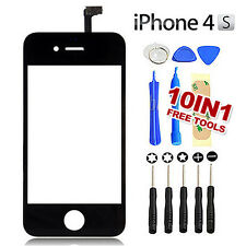 Color for iPhone 4 4S Digitizer Replacement Glass Touch Screen Repair Kit