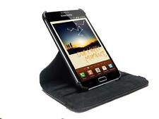 Faux Leather Case Cover with Stand for the Samsung Galaxy Note GT-N7000 1ST Gen