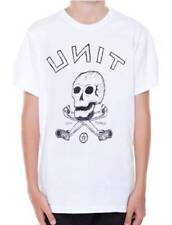 UNIT RIDERS MX FMX New Youth Boys T Shirt Tee Top Black SKULL Size 10 12 14 16