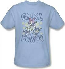 POWERPUFF GIRLS GIRL POWER MENS TEE