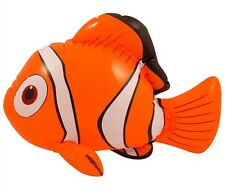 BLOW UP INFLATABLE CLOWN FISH 43CM KIDS PARTY BAG FILLERS NEMO