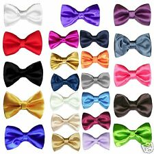 23 color Boy Classic Formal Wedding Tuxedo Suits Satin Bow Tie from Baby to Teen