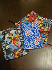 Marvel Dice Masters Custom Made Dice Bags and Deck Protectors