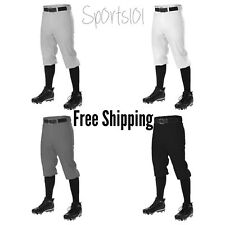 Alleson Athletic Baseball Knicker Pants Gray White Adult Youth 605PKN 605PKNY