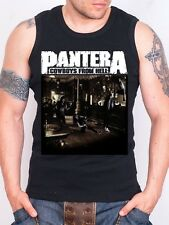 PANTERA COWBOYS FROM THE HELL Black Tank Top Rock Athletic Vest Rock Band Shirt