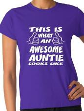 This Is What An Awesome Auntie Looks Like Gift For Aunty Ladies T shirt Size S-X