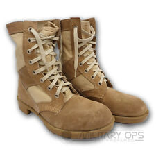 Military Army British Army Desert Boot Tactical Sand Tan Beige Suede Used