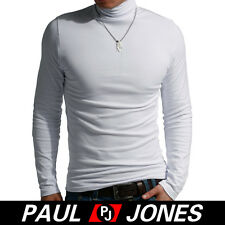 Cheap! New Men High-Necked Casual Shirts Tops Stylish Sweetshirt T-Shirts 3Color