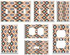 Light Switch Plate Electric Wall Cover Plate ~ Southwest Print Pattern