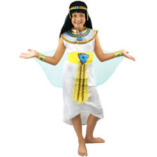 EGYPTIAN GIRL COSTUME CHILD'S QUEEN OF THE NILE CLEOPATRA FANCY DRESS PHARAOH