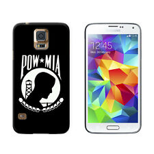 POW MIA Prisoner of War - Snap On Hard Protective Case for Samsung Galaxy S5