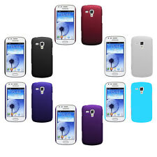 Hard Rubberized Matte Snap-On Cover Case For Samsung Galaxy Trend Duos  S7562