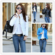New Women Short Slim cotton-padded jacket casual jackets coat outerwear