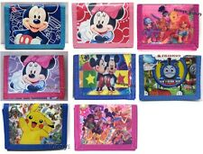 Mickey Minnie Mouse 3 - Fold Coins Purse Wallet