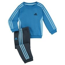 ADIDAS Infant Kids Toddler Boys 3 Stripe Jogging Tracksuit      Age 2-4 Years