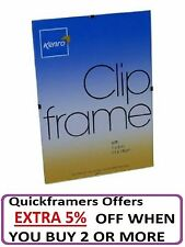 Kenro Clip Frames Ideal for Photo Picture Choice of sizes