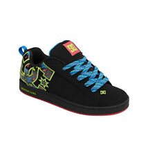 DC COURT GRAFFIK SE - Womens Shoes (NEW w/ FREE SHIP) Sizes 5-10 BLACK Pink LIME