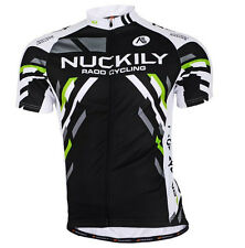Nuckily Cycling Jersey Bike Jersey Short Sleeve Bicycle Jersey Breathable M-XXL