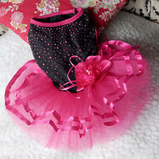 Lovely SO Puppy Pet Dog Costume Wedding Dress Mini Cute Style Clothing Clothes 1