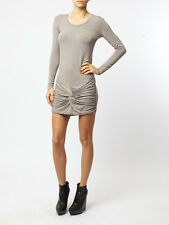 BNWT Religion Ninth Knot front Mini Dress in Opal Grey rrp £65