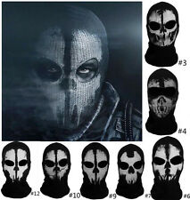 Balaclava face skull mask ghost bike skateboard Hood Cos Costume Call of Duty 10