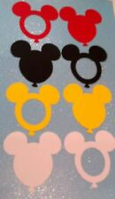 MICKEY MOUSE DIE CUTS BALLOONS  PICTURE FRAMES LOT OF 24