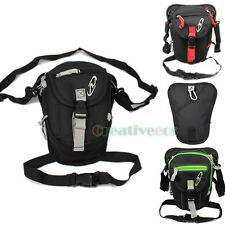 Unisex Motorcycle Travel Hiking Riding Fanny Pack Waist Thigh Drop Hook Leg Bag