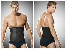 Ann Chery 2031 Latex Men Girdle Body Shaper Color Black
