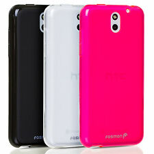 New Frosted Matte Soft Flexable TPU GEL Phone Case Cover Skin For HTC Desire 610