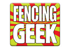 Printed T-SHIRT Funny HEN / STAG DO Party, FENCING GEEK All Sizes All Colours