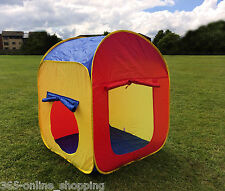 ARCHED KIDS SOFT BALL PIT CHILDRENS POP UP PLAY TENT INDOOR OUTDOOR PLAYHOUSE