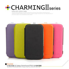 KLD Ultra Slim Color Flip Leather Case For   Samsung Galaxy Trend Duos S7562