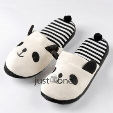 Couples Lovers Panda/Bear/Heart Styles Warm Home Indoors Plush Shoes Slippers