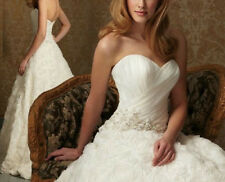 2014 Sweet Princess fashion simple bridal gown and trailing bride wedding  HS03