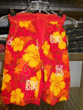 BRP Sea Doo Kids Tiki Boardshort Red