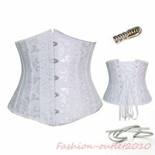 FO 26 Spiral Steel Boned Waist Training Under Bustier Corset HOT Top Plus 6-24