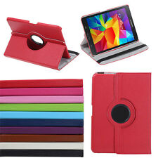 """360 Rotating PU Leather Case Cover Stand for Samsung Galaxy Tab 4 8"""" 8.0 T330"""