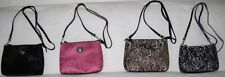 Cloth HEART PATTERN Cross Body Style Purse in 4 COLORS!