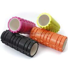 New 34x14cm 13x5inch Pilates Fitness Foam Roller Massage Grid Trigger Point