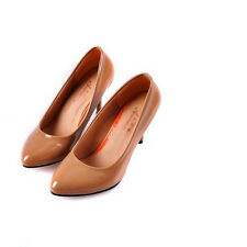 2014 Women's Lovely Pumps High Slim Heels Patent Leather Casual Shoes CA MC