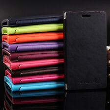 Leather FOR Nokia Lumia 920 N920 Case Flip BOOK Hard Cover Luxury + film