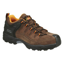 Thorogood 804-4019 Men's Brown Plain Composite Safety Toe Work Shoes