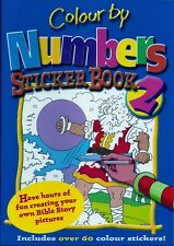 Colour by Numbers Sticker Book: No.2, , New Book